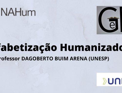 Aula pública Alfabetização Humanizadora