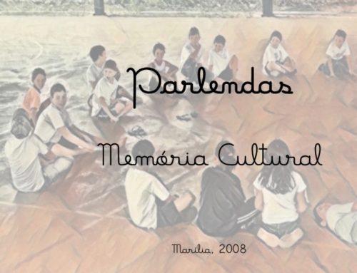 Projeto parlendas – 2008